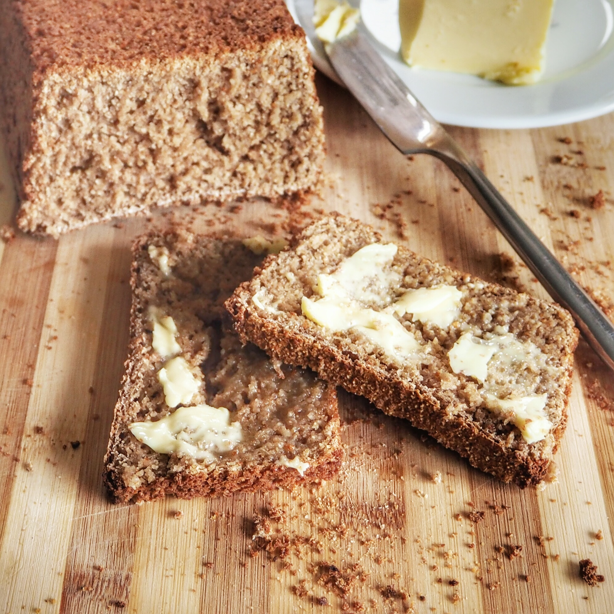 Easy to Make Authentic Irish Brown Bread